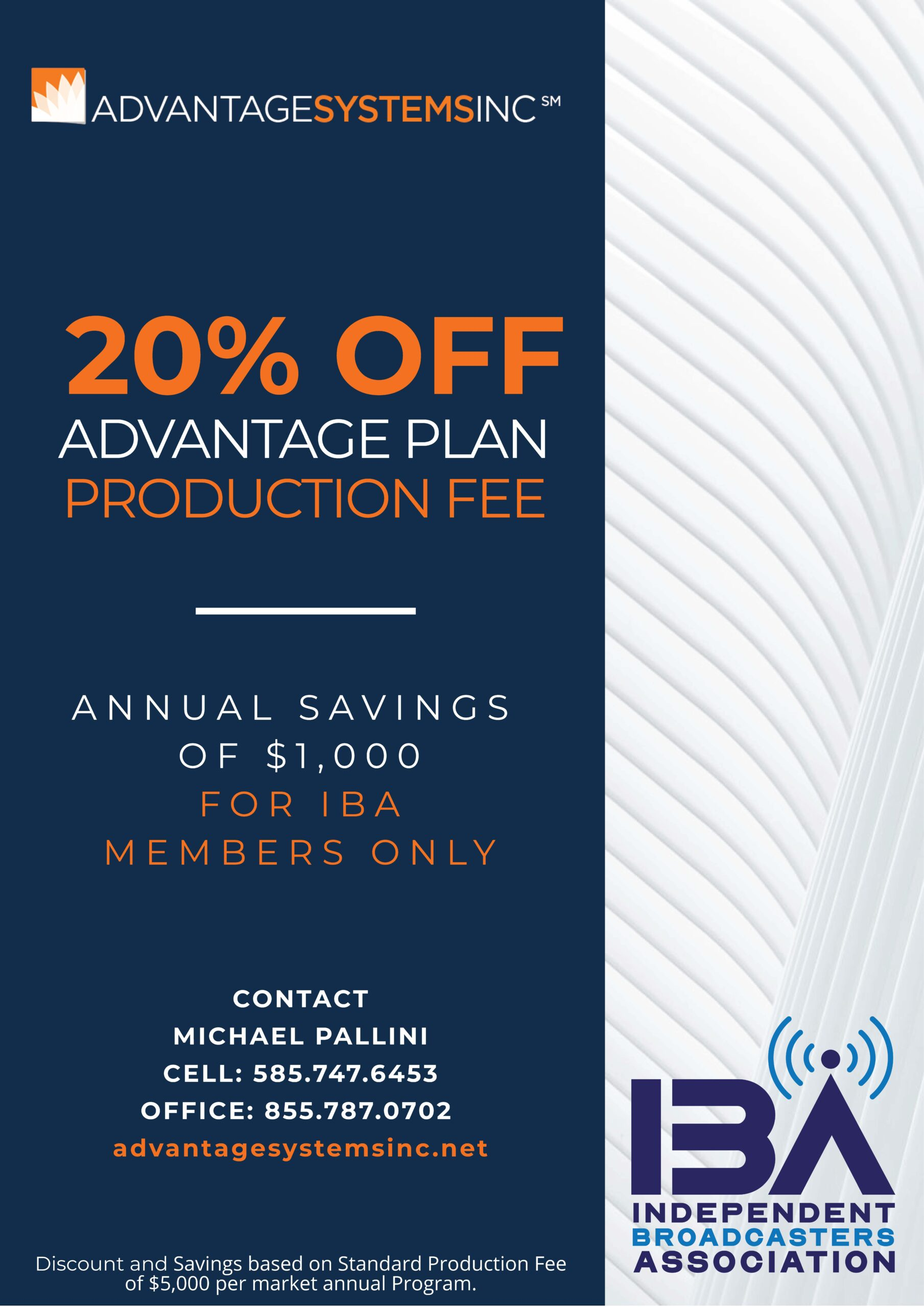 Discount for IBA Members Only